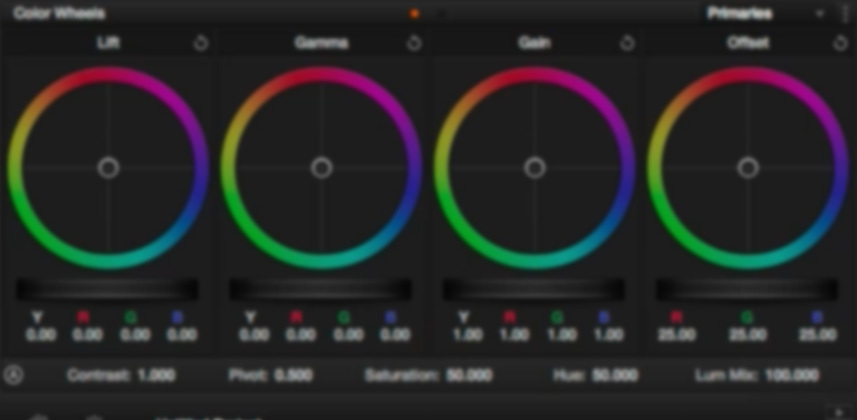 Color Correcting with Log Controls in DaVinci Resolve: An Overview