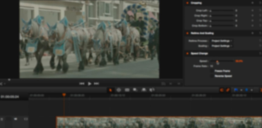 Understanding Time Remapping in DaVinci Resolve 10