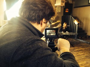 Shooting a music video for MixingLight's upcoming Resolve 10 training