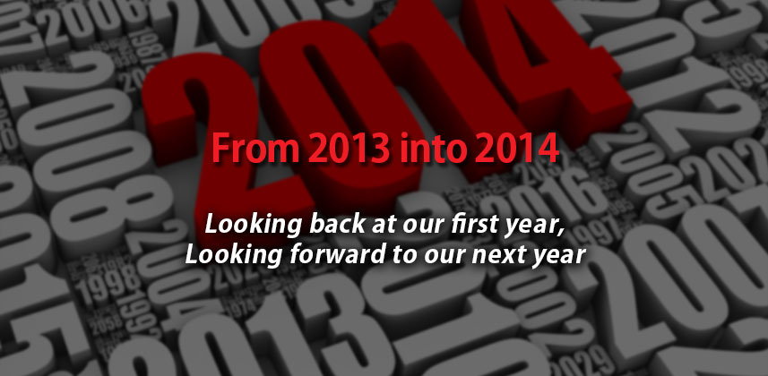 2013 in review, looking toward 2014