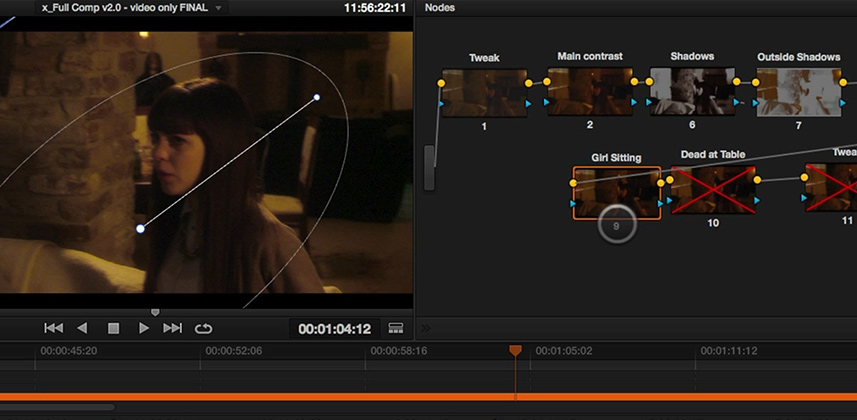 How To Color Grading Long Tracking Shots