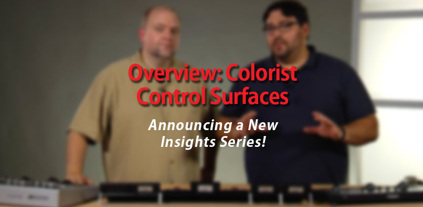 Round-up: Colorist Control Surfaces
