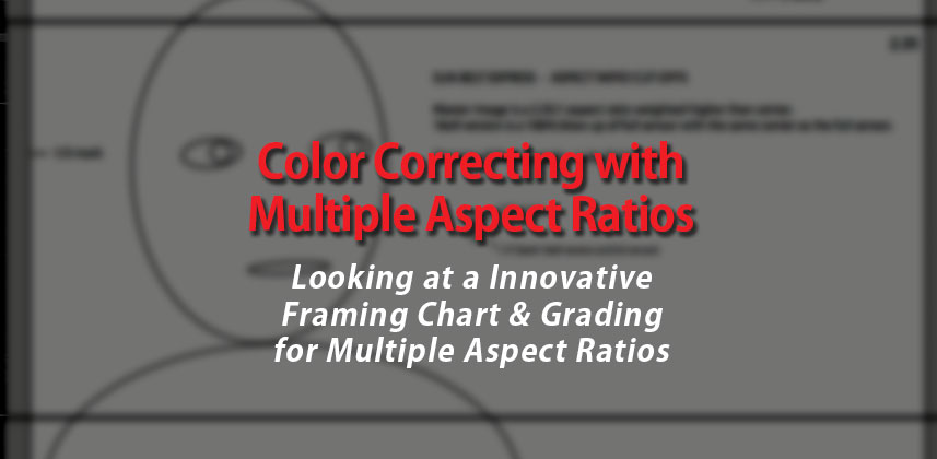 Color Correcting with Multiple Aspect Ratios