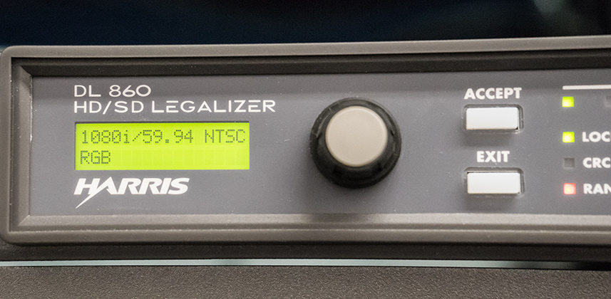 Legalizing Video With The Harris DL860