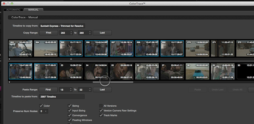 How to Use Manual Color Trace in DaVinci Resolve