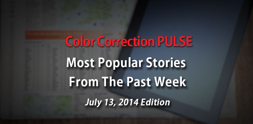 Top Color Correction News Stories: July 13 Edition