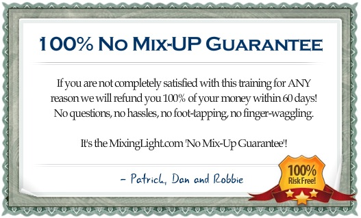 Mixing Light's No Mix-Up Guarantee