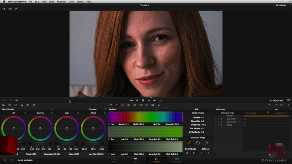 Three Techniques for Smoothing Skin Tones in DaVinci Resolve