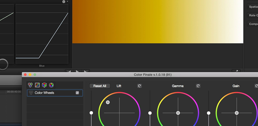 3rd Party Color Correction Plug-ins for FCP X: Color Finale