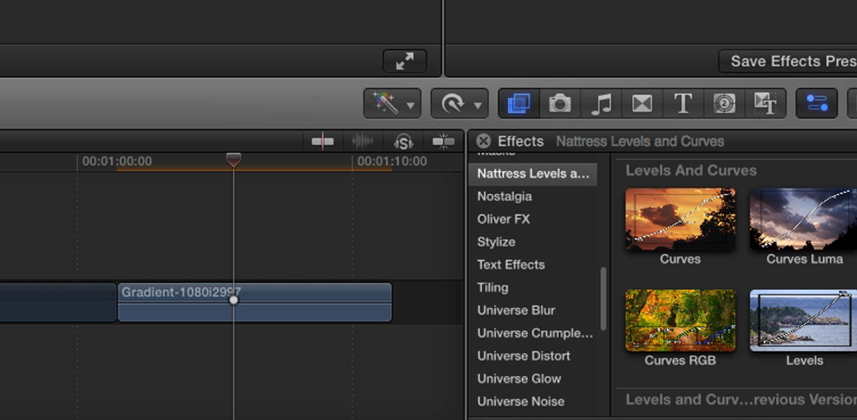 An Overview of Nattress Levels and Curves for FCP X