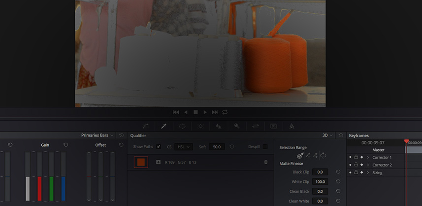 First Look at the DaVinci Resolve 3D Keyer