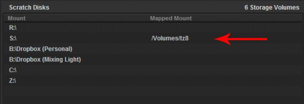 mappedmount