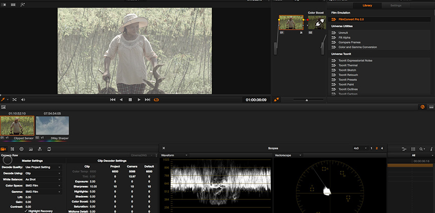 Ideas on color correcting raw footage using Camera Raw controls