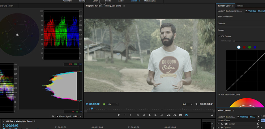 Create Custom Workspaces for Color Correcting in Premiere Pro CC