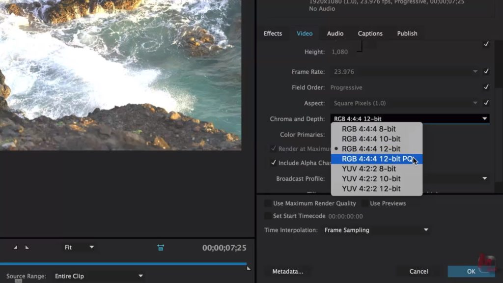 How to set up Premiere Pro for High Dynamic Range (HDR) color correction