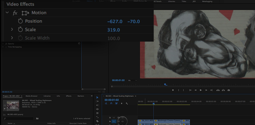 How To Handle Scaling In XML Workflows for Premiere Pro