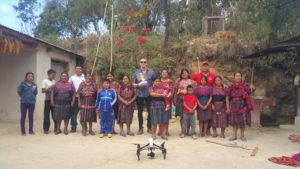 Mike Mazur on location in Guatemala... with his drone
