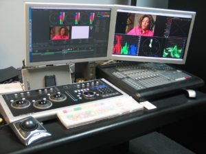 My editing / grading suite, in 2008