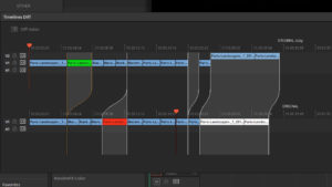 The Compare Timelines feature in DaVinci Resolve 14