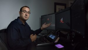 Joey D'Anna teaching the new features in DaVinci Resolve 14