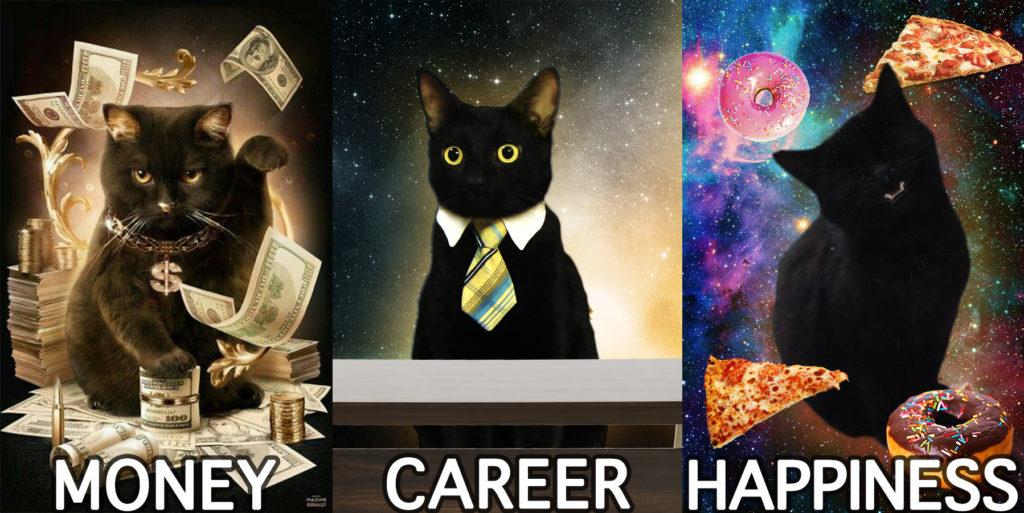 Money Career Happiness