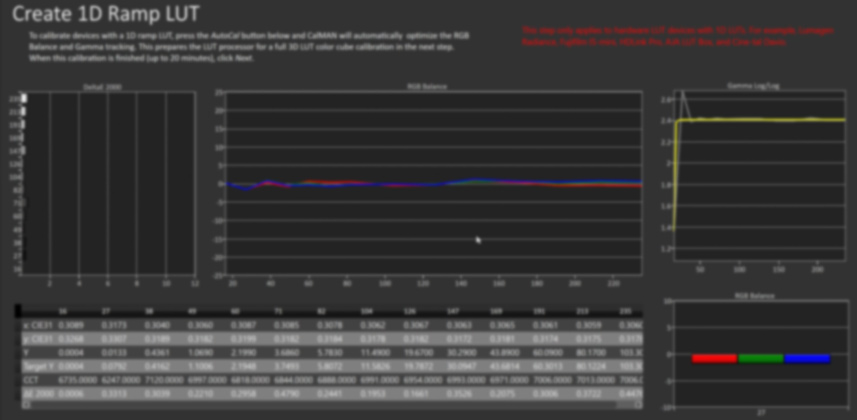 How to Optimize Calibration LUTs in CalMAN Studio