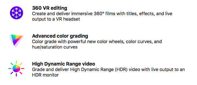 FCPX 10.4 New Features