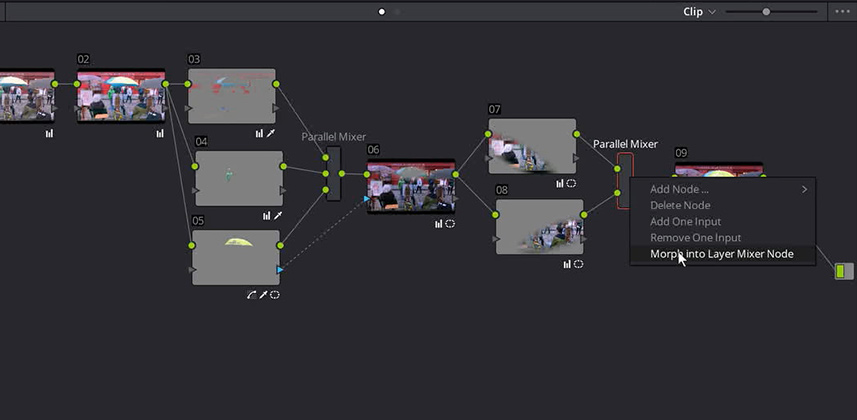 Two Ways of Using DaVinci Resolve's Parallel Mixer Node