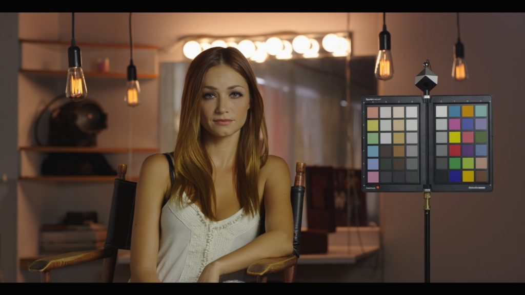A real-world test image with Arri's LogC to Rec709 LUT applied.