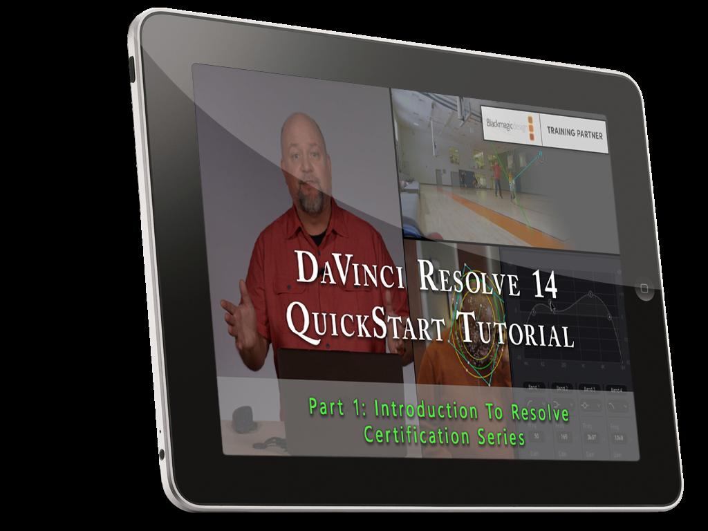 DaVinci Resolve 14 QuickStart Tutorial Series