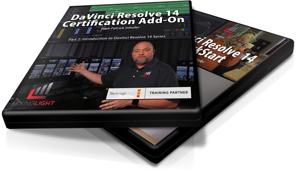 DaVinci Resolve 14 Certification Tutorial Series