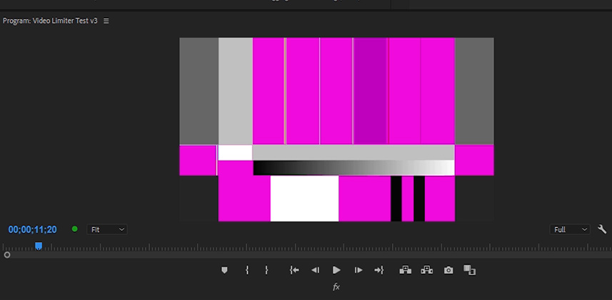 Does The New Limiter Effect In Premiere Pro CC 2018 Catch Gamut Excursion?
