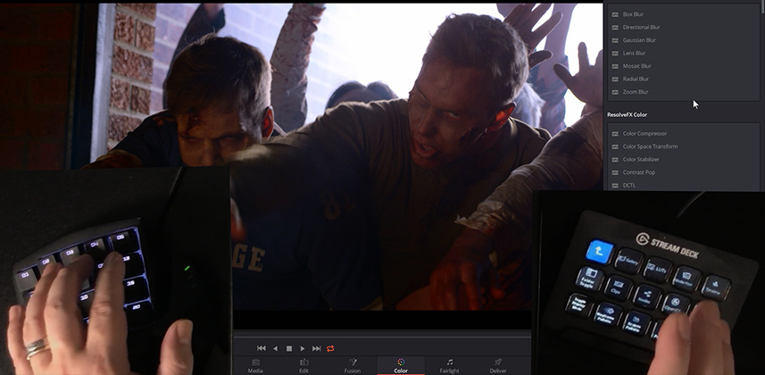 Using the El Gato Stream Deck & Orbweaver with the Resolve Mini Control Surface
