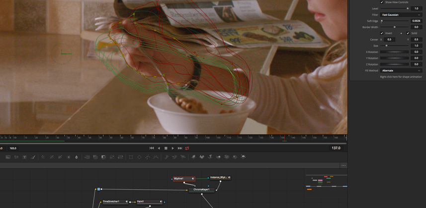 Paint and Rotoscoping in Resolve Fusion Part 2