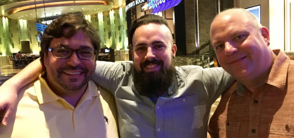 Mixing Light Founders - Robbie, Dan, and Patrick