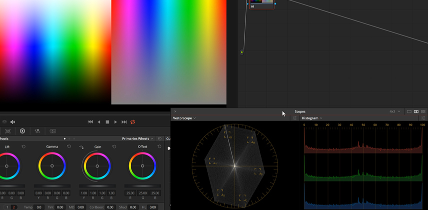 Understanding how Color Boost works in DaVinci Resolve