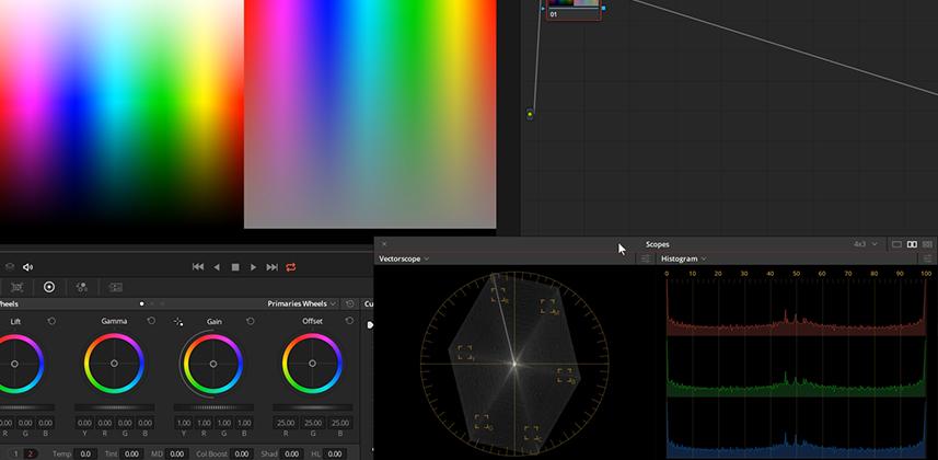 Understanding how Color Boost works in DaVinci Resolve