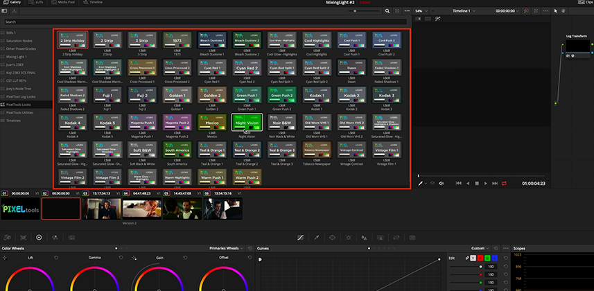 PixelTools PowerGrade for DaVinci Resolve Review
