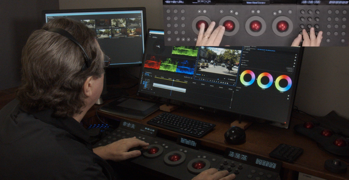 Production grading in Adobe Premiere