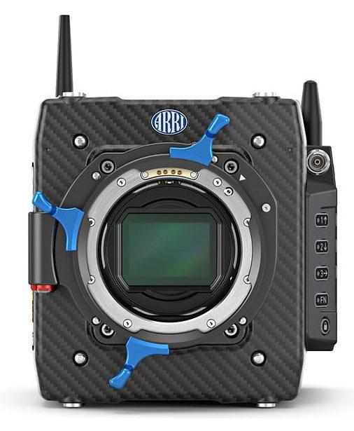 The ARRI ALEXA MINI LF with a 4.5K large-format sensor